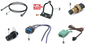 Speedometer Cables and Speed Sensors