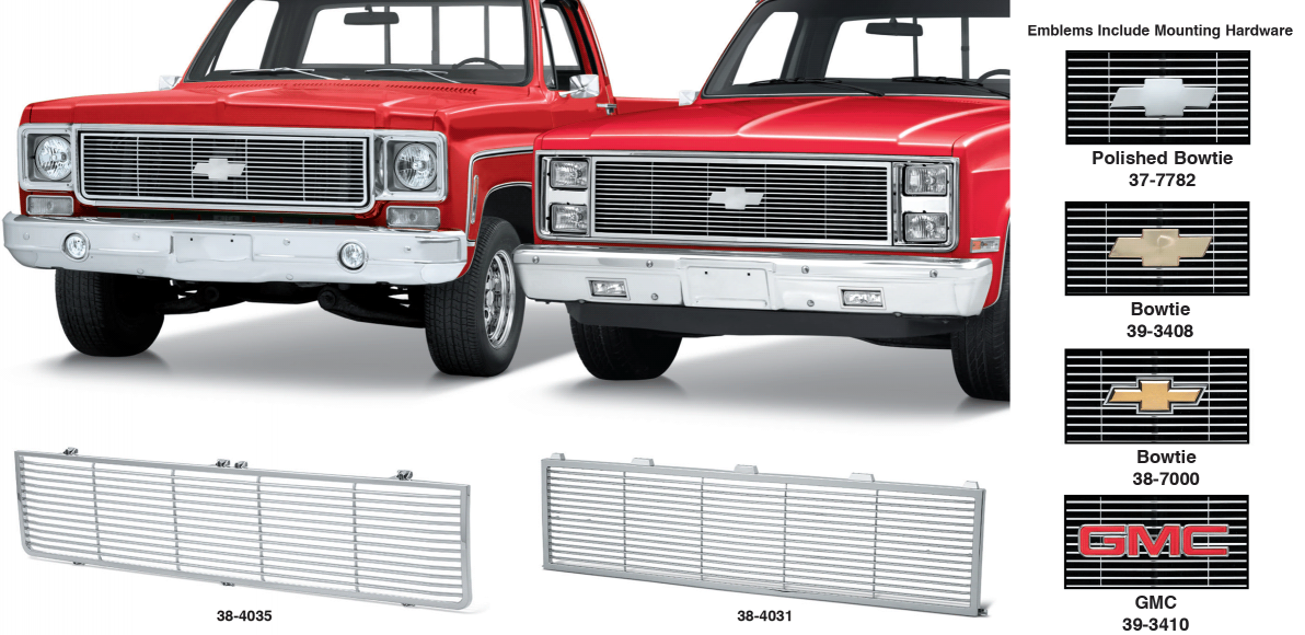All Chrome Special Edition Grille
