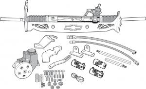 Power Rack and Pinion Kit