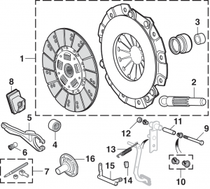Clutch Kits and Components