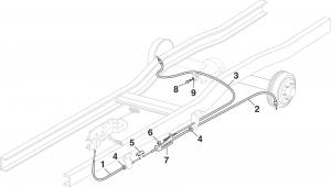Parking Brake Cables