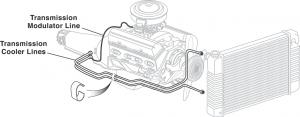 Pre-Bent Transmission Cooler Lines