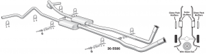 Complete High Performance Bolt-On Exhaust Systems Connect without Welding