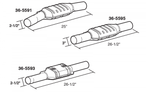 Replacement Catalytic Converters