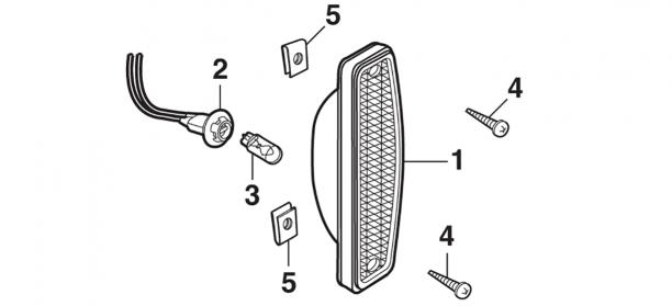 Sidemarker Lamp