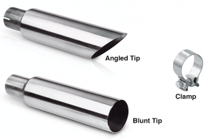 Stainless Steel Exhaust Tips