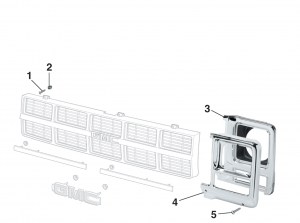 1979-80 Grille Components