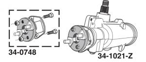 1973-76 Quick Ratio Power Steering Gear