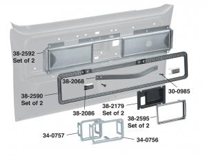 1977-80 Door Panel Trim