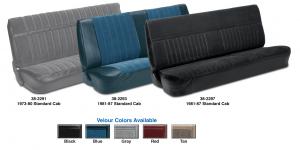 Vinyl Bench Seat Kits