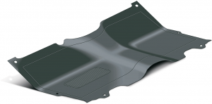 1973-87 Rubber Floor Mats ... One Piece Replacements for OE Mats