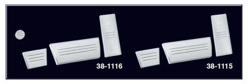 1975-89 Billet Aluminum Pedal Kits