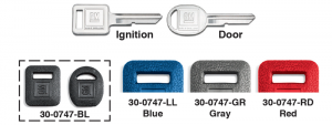 1973-89 Key Cover Sets, Ignition and Door Key Blanks