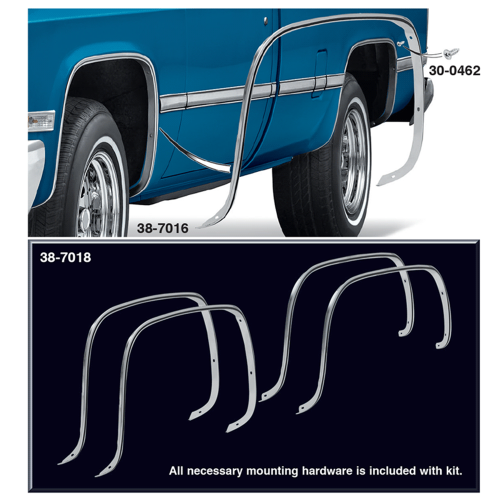 1973-91 Wheel Arch Molding Kit