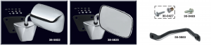 1973-91 GM Style Reproduction Door Mirror Manufactured Exclusively for LMC Truck