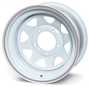 White Spoke Wheel