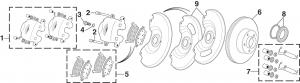 1973-89 Front Disc Brake Components