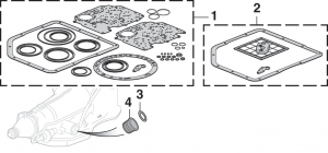 1973-89 Transmission Gasket and Filters