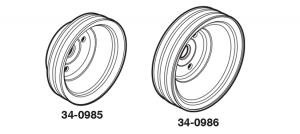 1973-86 Crankshaft Pulleys
