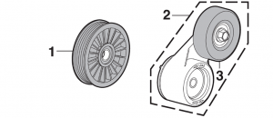 1987-89 Idler Pulleys and Tensioners