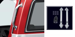 Chrome Cab Handle