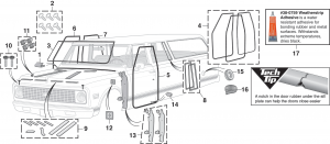 Exterior Rubber and Components