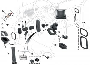 Interior Rubber Components