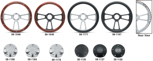 Wood and Leather Grained Vinyl Steering Wheels … The Ultimate Look for Your Truck