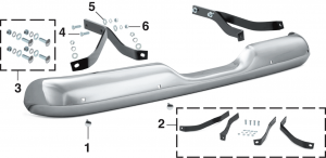 Stepside Rear Bumper and Components