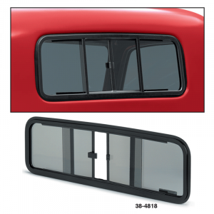 Sliding Rear Window ...  Easy Single Hand Operation