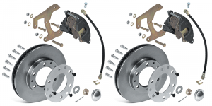 Disc Brake Kit … No More Front Drums