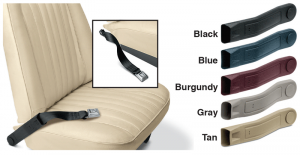 Seat Belt Buckle Sleeves for Your Bucket Seats