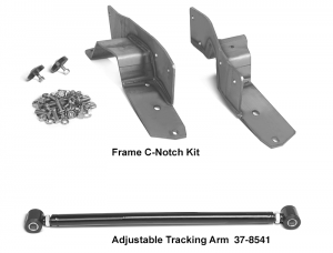 Frame C-Notch Kit and Adjustable Tracking Arm