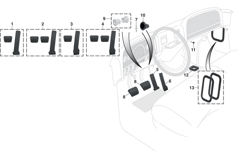 Interior Rubber Parts