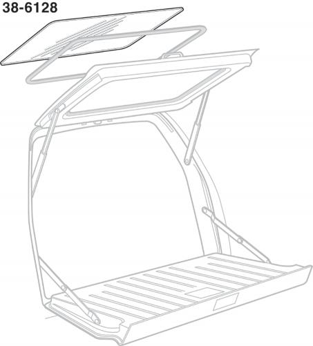 Rear Hatch Glass