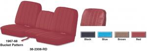 Vinyl Bucket Seat Reupholstery Kit