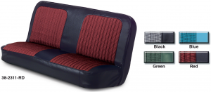 Vinyl / Houndstooth Front Seat Reupholstery Kit