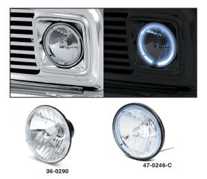 Chevy Custom Headlight