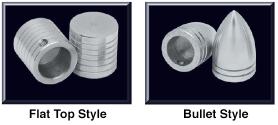 Billet Aluminum Wiper Post Cover Set
