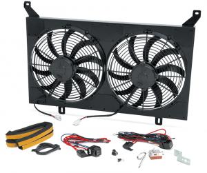 Dual Electric Fan Assembly