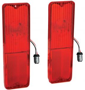 LED Tail Light Lens Set