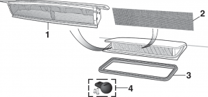 Cowl Vent and Components