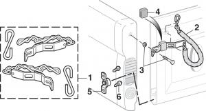 Fleetside Tailgate Chain