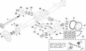 Rear Differential - 1/2 Ton