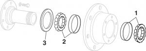 Front Wheel Bearings - 4WD