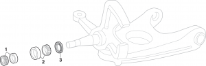 Front Wheel Bearings - 2WD