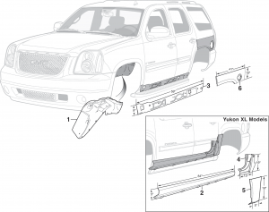 Steel Body Repair Panels