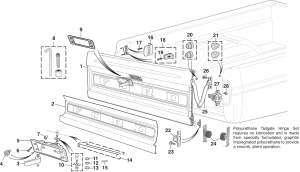 Styleside Tailgate and Components
