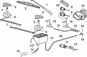 Windshield Wiper Components