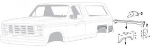 Rear Steel Body Parts